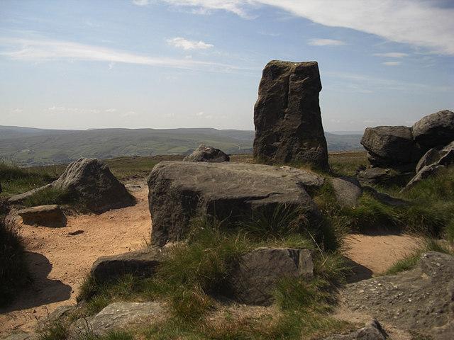 The Aiggin Stone, Blackstone Edge