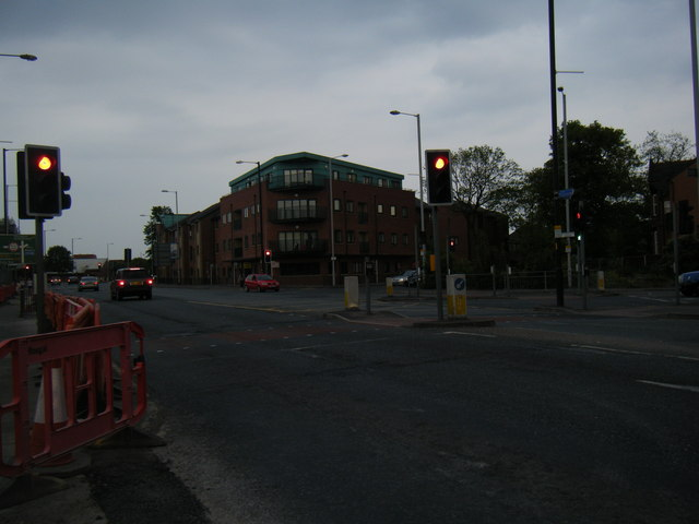 Plymouth Grove/Stockport Road junction