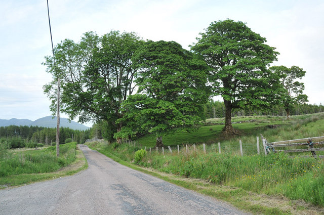 Minor road near Kilchrenan