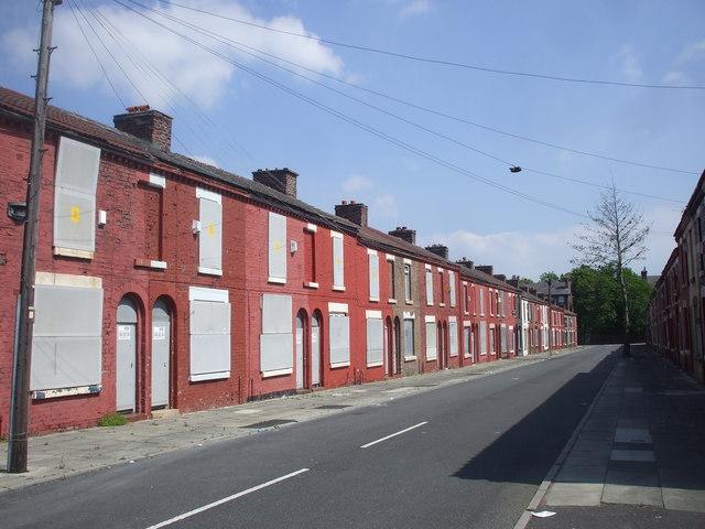 Rhiwlas St, Liverpool, awaiting regeneration