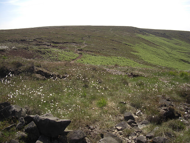 Track over Clegg Moor