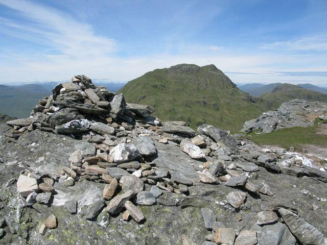 Beinn Tulaichean Summit Cairn