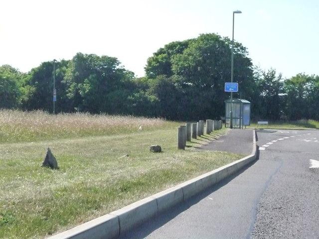 Churston : Dartmouth Road & Bus Stop