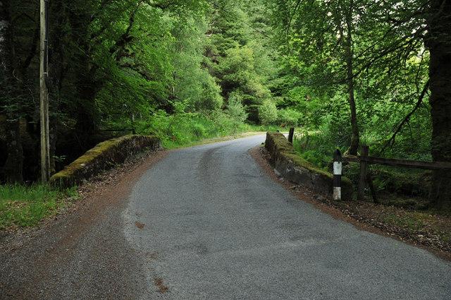Bridge on the road to Ardanaiseig