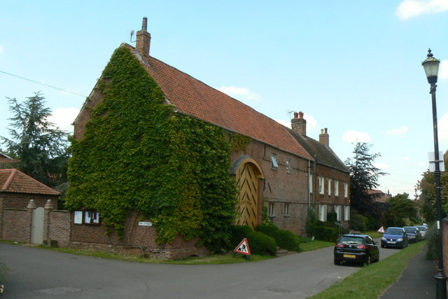 Stafford House and barn