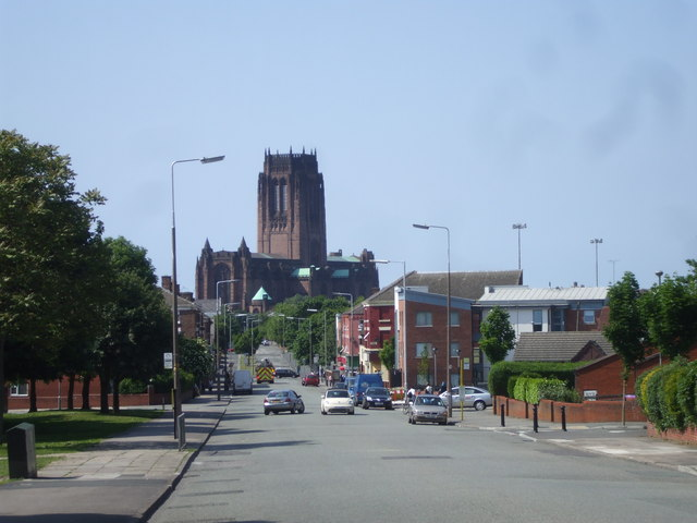 Looking down Windsor St, Liverpool