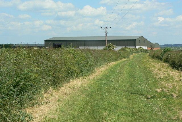 Barn Farm and Mill Lane