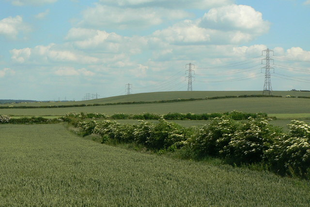 Landscape near Barn Farm