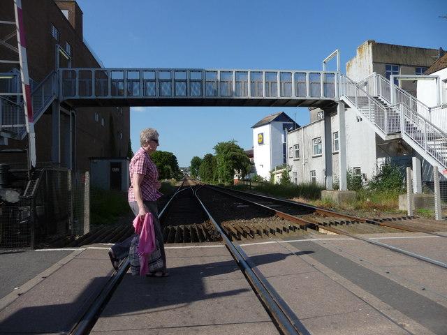 Paignton : Railway Crossing