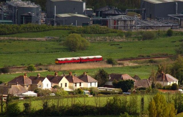 The railway at Morton