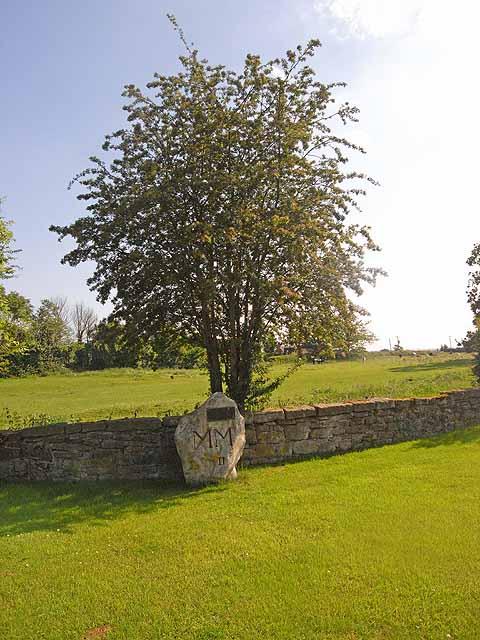Millennium Stone at Oulton