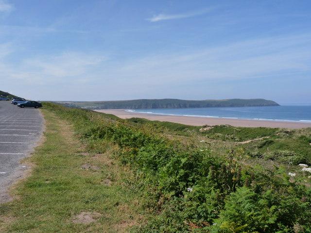 Marine Drive, Woolacombe Sand and Putsborough Sand