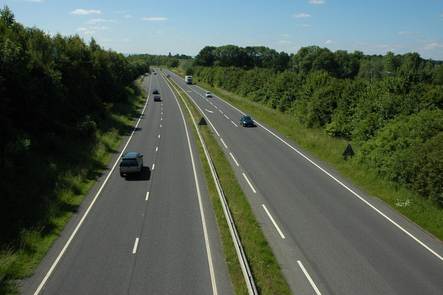 The A435 at Alcester