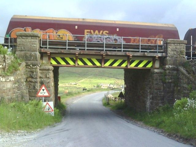 Settle-Carlisle railway Bridge115 at Garsdale