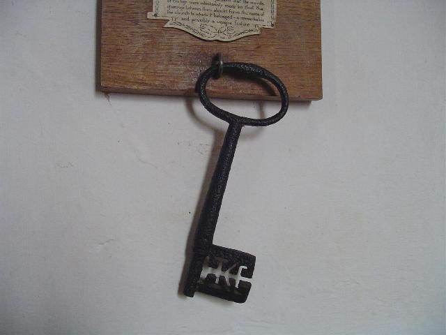 Eyke All Saints church key