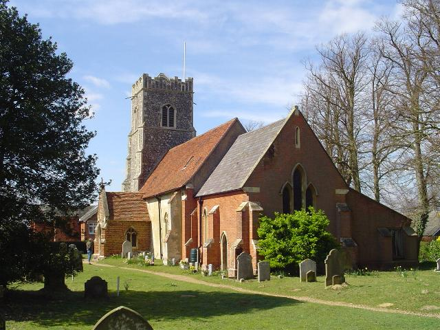Bromeswell St Edmund's church