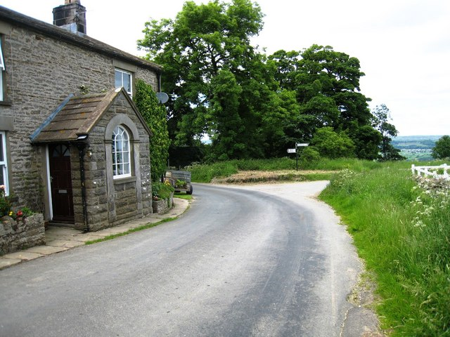 Road junction near Penhill Farm