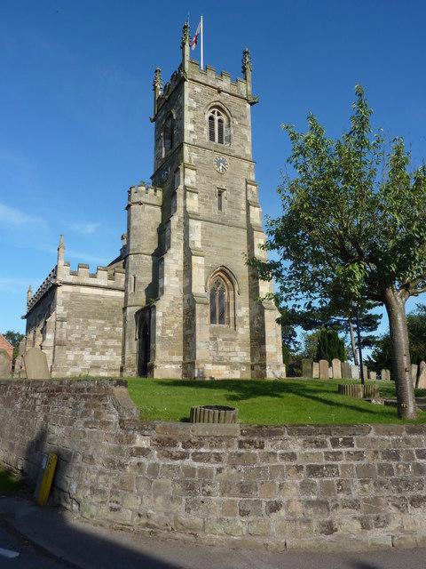 Bothamsall church