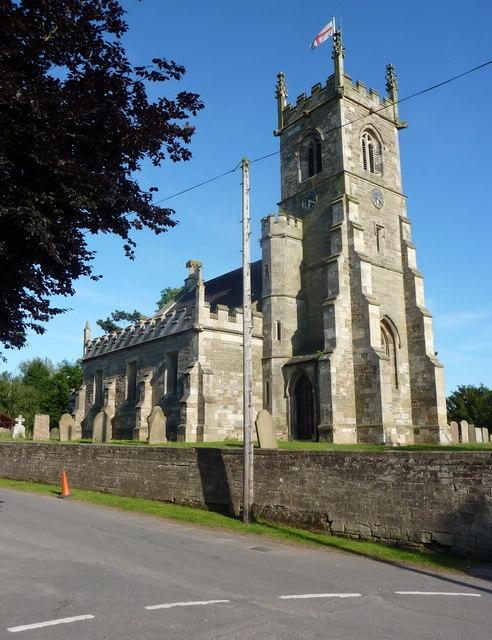 The church at Bothamsall