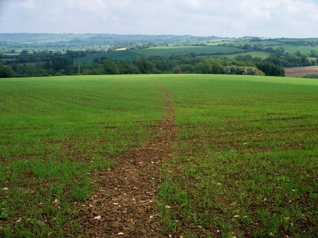 Toward Ashby Farm