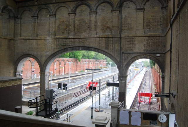 Inside Crystal Palace Station