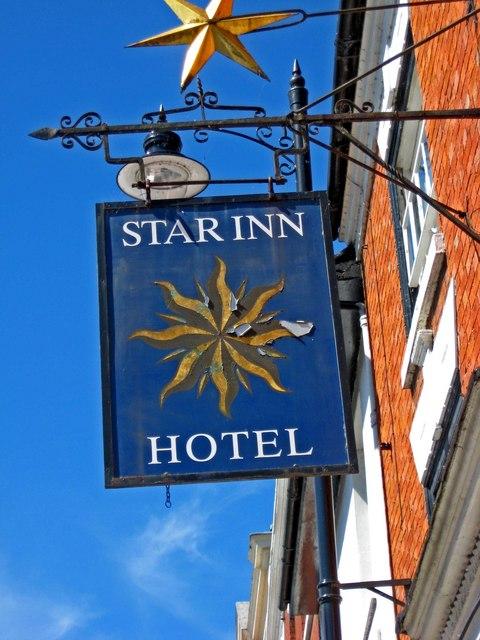 The Star Inn (sign), 23 Bridge Street