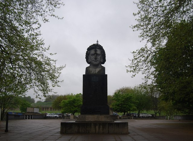 Large bust of Joseph Paxton, Crystal Palace