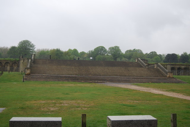 The remains of The Crystal Palace