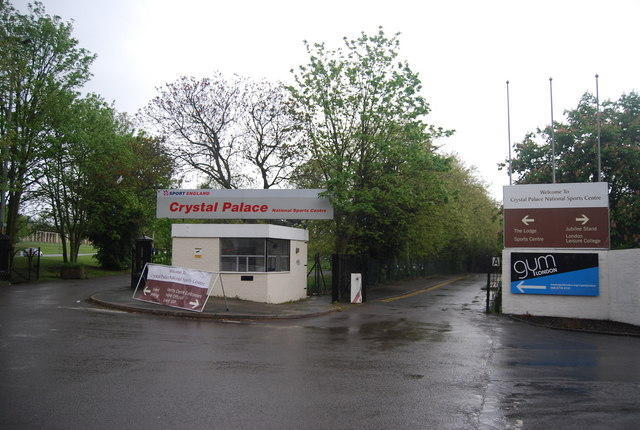 Entrance to Crystal Palace Park