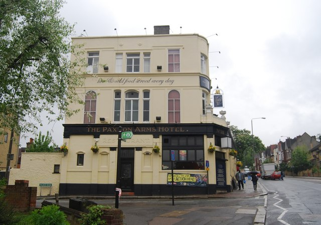 The Paxton Arms Hotel, Anerley Road