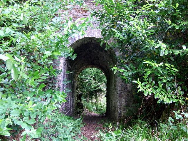 Castell Malgwyn tunnel, looking west