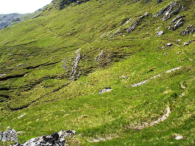 Stalkers' Path on the east side of Sgurr Dubh