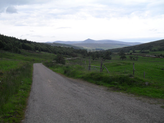 Looking East to Strath Brora