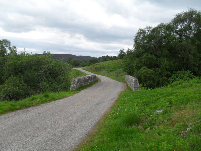 Climb up Strath Brora