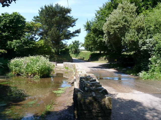 The Ford and Pond on Putsborough Road