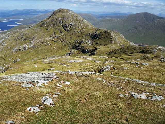 View towards Sgurr a' Chlaidheimh