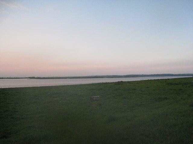 Humber shore near sunset