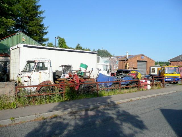 Yard off Wood Road, Mile End