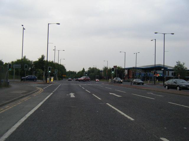 Kirkmanshulme Lane/Hyde Road junction
