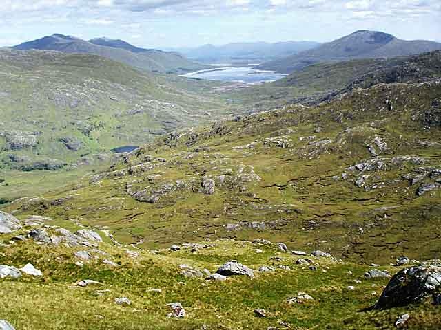 View towards Loch Quoich