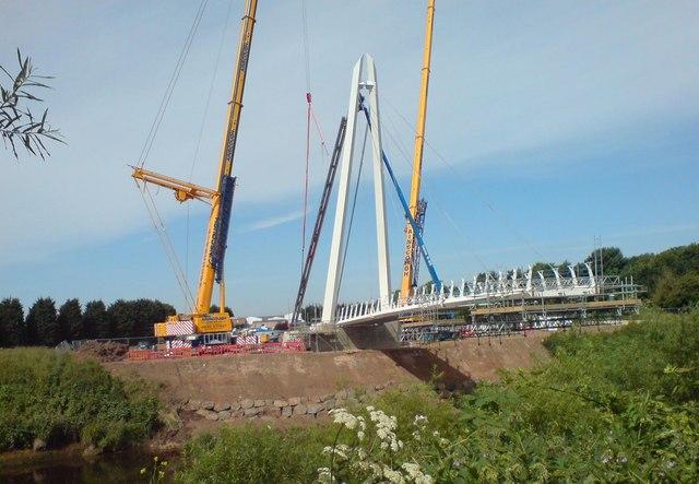 New bridge taking shape