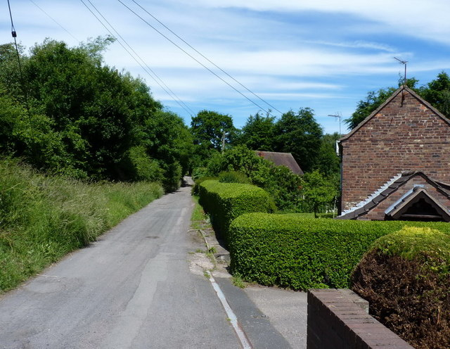 The byway towards Lawley