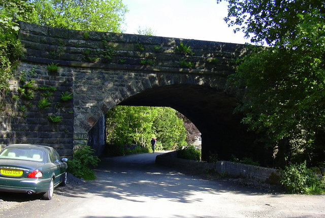 Railway Bridge, Jumble Hole Road, Eastwood, Calderdale