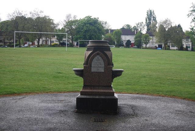 Drinking Fountain, Upper Norwood Recreation Ground