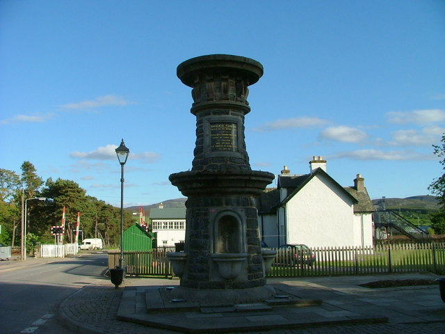 Mackenzie Fountain, Kingussie