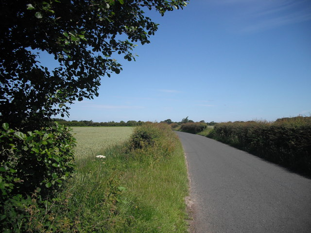 Graveyard Lane near Aughton