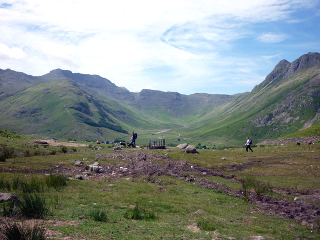 The Blea Tarn pass