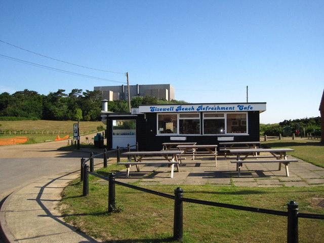 Sizewell Beach Cafe Sizewell Gap Sizewell Leiston Suffolk Ipuh