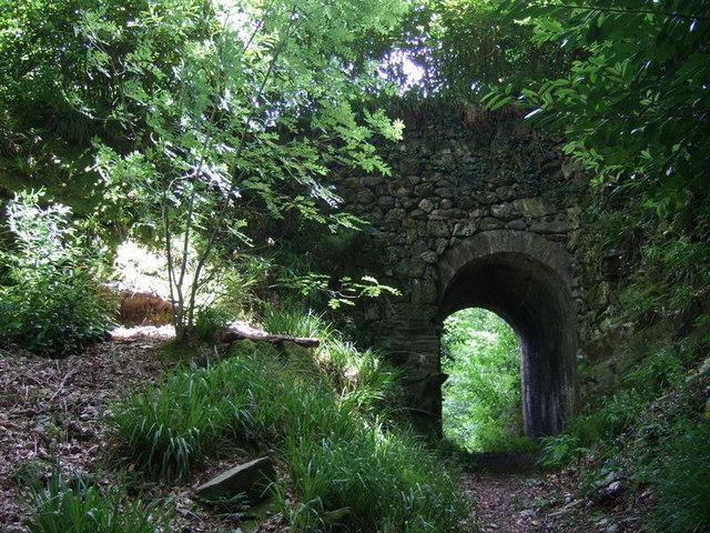 Castell Malgwyn tunnel, looking east