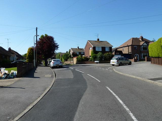 June in Aldermoor Road East